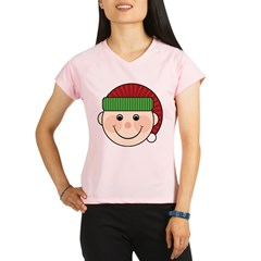 Funny Christmas Elf Maternity Tshirt Performance Dry T-Shirt