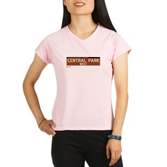Central Park West in NY Performance Dry T-Shirt