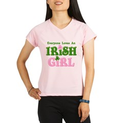 Loves An Irish Girl Performance Dry T-Shirt