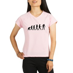 Funny Zombie Evolution Performance Dry T-Shirt