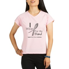 Gray Ribbon Friend Performance Dry T-Shirt