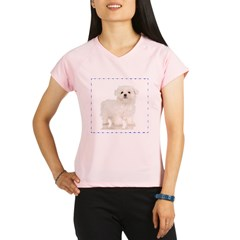 Maltese Puppy Performance Dry T-Shirt