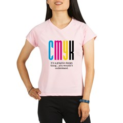 cmyk design thing Performance Dry T-Shirt