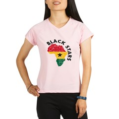 Ghana Black stars Performance Dry T-Shirt