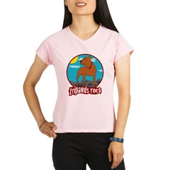 Tripawds Rock - Trouble Performance Dry T-Shirt