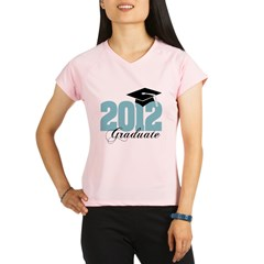 2012 graduate color aqua Performance Dry T-Shirt