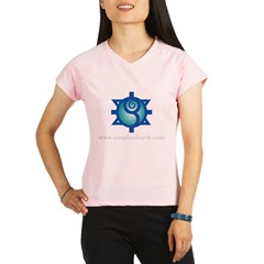 Temple of Earth Women's Pink Performance Dry T-Shirt