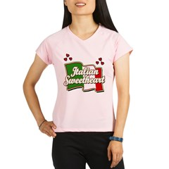 Italian Sweetheart/ Women's Pink Performance Dry T-Shirt