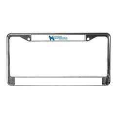 "P. Water Dog ""One Cool Dog"" License Plate Frame"