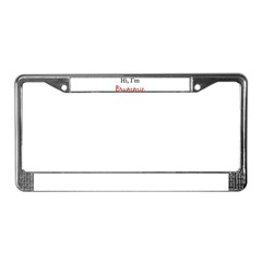 Hi, I am Brummie License Plate Frame