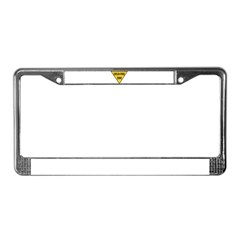 Child-Free Zone License Plate Frame