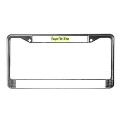 Outragous Older Woman License Plate Frame