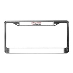 Fantasy Baseball Commish License Plate Frame