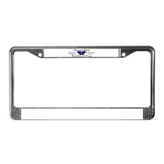 Butterfly Awareness 1 (Rheumatoid Arthritis) License Plate Frame