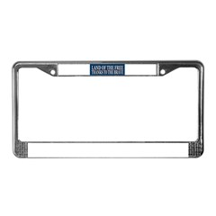 Patriotic - American Veteran License Plate Frame