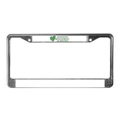 Godless For World Peace License Plate Frame