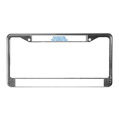 I Voted For The American License Plate Frame