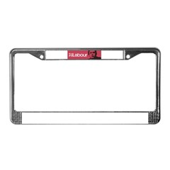 Gordon Brown Labour Party License Plate Frame