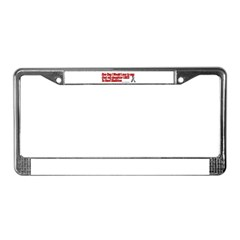 daughter used red License Plate Frame