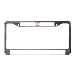 SILENCE IS A VIRTUE™ License Plate Frame