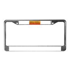 Support Wildlife - Raise Twin License Plate Frame
