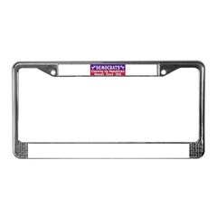 Democrats License Plate Frame