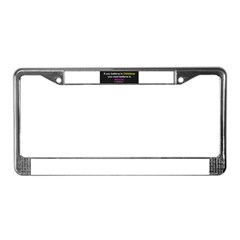 Christmas & Mission License Plate Frame