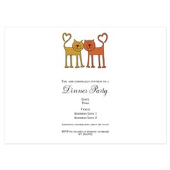 Love Cats 4.5 x 6.25 Flat Cards