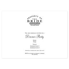 Property Bride Forever 4.5 x 6.25 Flat Cards