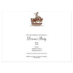 Made of Honor 4.5 x 6.25 Flat Cards