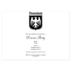 Germany Soccer - 4.5 x 6.25 Flat Cards