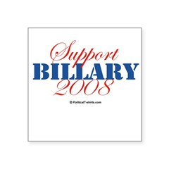 "2008 Election Candidates Rectangle Square Sticker 3"" x 3"""
