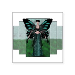 "Etégina the Night Fairy Rectangle Square Sticker 3"" x 3"""