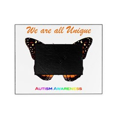 Butterfly: Autism Awareness Picture Frame