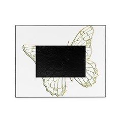Embossed Butterfly Picture Frame