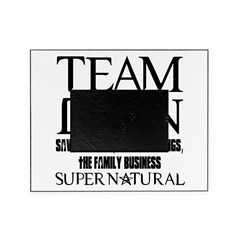 Team Dean Supernatural Winchester Picture Frame