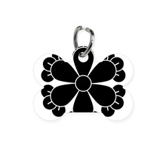 Six cloves Bone Pet Tag