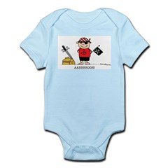 Pirate Boy 1 Infant Bodysuit