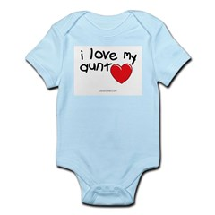 I Love My Aunt Infant Creeper Infant Bodysuit