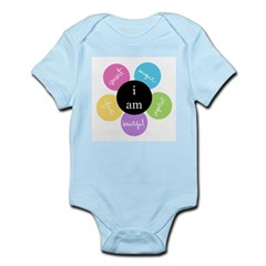 """i am..."" Infant Bodysuit"