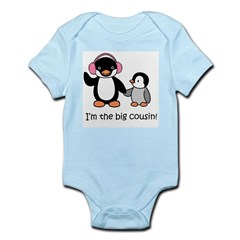 Big Cousin Kids T-Shirt - Penguin Infant Bodysuit