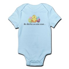 big sister easter Kids Infant Bodysuit