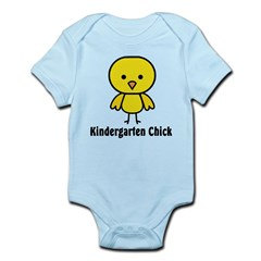 Kindergarten Chick Infant Bodysuit