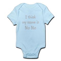 Name Is NoNo Infant Bodysuit