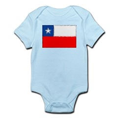 Chilean Flag Infant Bodysuit
