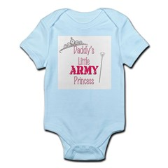 Army Princess Infant Bodysuit