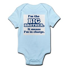 Big Brother in Charge Infant Bodysuit