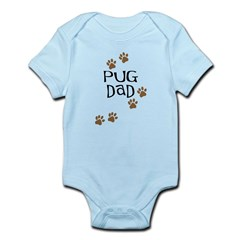 Pug Dad Infant Bodysuit