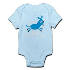 DonkeyObama4dark Infant Bodysuit