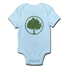 Vintage Tree Infant Bodysuit